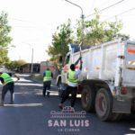 Realizaron operativos de limpieza en distintos puntos de la Ciudad