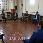 El Intendente se reunió con concejales para coordinar y reforzar acciones de prevención y ayuda social