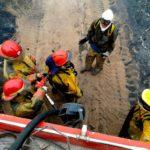 Defensa Civil trabajó para sofocar dos incendios en la Ciudad