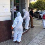 El Municipio continúa la desinfección en espacios públicos y privados