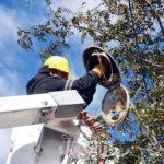 Reparan más de 50 luminarias que fueron rotas en hechos vandálicos