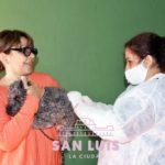 Campaña de vacunación antirrábica: llevan atendidas más de 1500 mascotas en los barrios