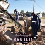 Obras de agua y cloacas beneficiarán a más de 100 familias del barrio Juan Gilberto Funes