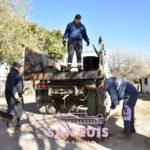 Con tareas de bacheo y mantenimiento mejoran calles del norte de la Ciudad