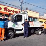 Comenzó la recolección de residuos reciclables en comercios y edificios