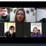 Funcionarios municipales mantuvieron una reunión virtual con concejales