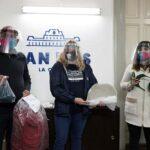 La Fundación Garrahan entregó 200 máscaras de protección para trabajadores de la Municipalidad