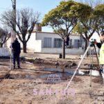 Reparan la ochava de la intersección de avenida Sucre y Juan Saá