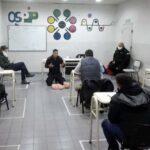 Defensa Civil capacita a trabajadores del Sindicato de Plásticos en primeros auxilios y RCP