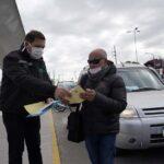 Controlaron vehículos que transportan sustancias alimenticias en la Ciudad
