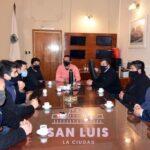 El intendente Sergio Tamayo se reunió con referentes de la UTA