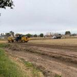 Realizaron arreglos para evitar inundaciones en Marcelino Poblet y Estado de Israel